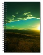 A Beautiful Sunset Spiral Notebook