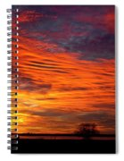 A Beautiful Valentines Sunrise Image Photo Spiral Notebook