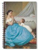 A Bedtime Prayer Spiral Notebook