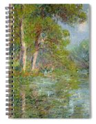 A Bend In The Eure Spiral Notebook
