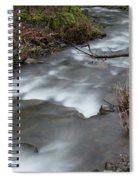 A Bend In The Flow Spiral Notebook