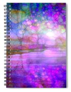 A Bewitching Purple Morning Spiral Notebook