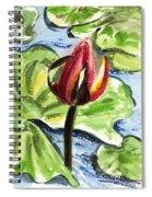 A Birth Of A Life Spiral Notebook