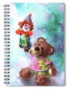 A Birthday Clown For Miki De Goodaboom Spiral Notebook
