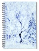 A Blanket Of Snow Spiral Notebook