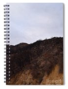 A Bleak Burned Slope In The Foothills Of The Southwest Sierra Nevadas Spiral Notebook