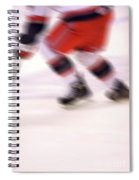 A Blur Of Ice Speed Spiral Notebook
