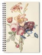 A Bouquet, Henriette Geertruida Knip, Ca. 1820 Spiral Notebook
