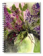 A Bouquet Of May-lilacs Spiral Notebook