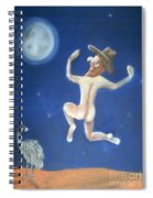 A Bout Of Lunacy Spiral Notebook