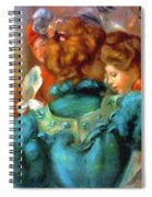 A Box In The Theater Des Varietes 1898 Spiral Notebook