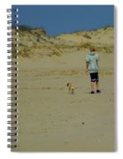 A Boy And His Pug Spiral Notebook