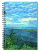 A Break In The Clouds Spiral Notebook