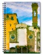 A Breeze Over Florence Spiral Notebook