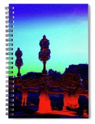 A Bridge Darkly 1 Spiral Notebook