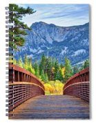 A Bridge To Beauty Spiral Notebook