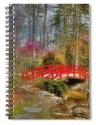 A Bridge To Spring Spiral Notebook