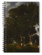 A Bright Day 1840 Spiral Notebook