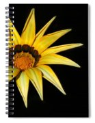 A Bright Yellow Star Spiral Notebook