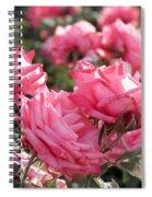 A Bunch Of Pink Spiral Notebook