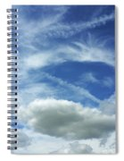 A Busy Sky Spiral Notebook