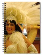 People Series - A C Showgirl Spiral Notebook