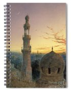 A Call To Prayer Spiral Notebook