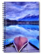 A Calm Afternoon At Lake Edith Spiral Notebook