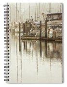 A Canal View Spiral Notebook