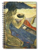 A Canoe Spiral Notebook