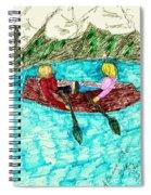 A Canoe Ride Spiral Notebook
