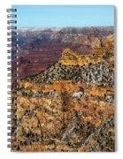 A Canyon Winter Spiral Notebook