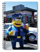 A Cop Of Coffee Series Y7520 Spiral Notebook
