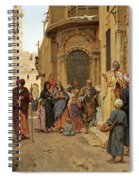 A Captive Audience. Cairo Spiral Notebook
