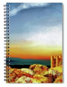 A Castle In Spain Spiral Notebook