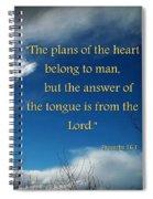 A Change Of Plan Spiral Notebook