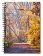 A Change Of Seasons On Forbidden Drive Spiral Notebook