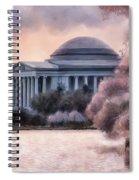 A Cherry Blossom Dawn Spiral Notebook