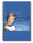 A Child's Smile Spiral Notebook