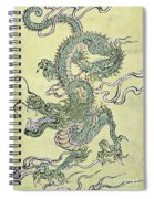 A Chinese Dragon Spiral Notebook