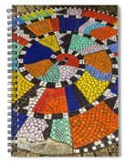 A Chip Off The Ole Mosaic Spiral Notebook