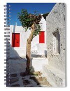 A Church And A Tree Spiral Notebook