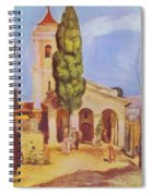 A Church At Cagnes Spiral Notebook