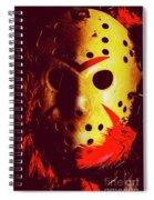 A Cinematic Nightmare Spiral Notebook