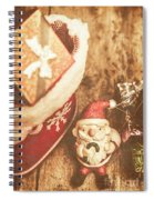 A Clause For A Merry Christmas  Spiral Notebook