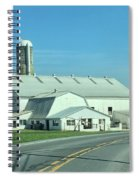 A Clear Amish Day Spiral Notebook
