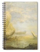 A Coastal Landscape Spiral Notebook