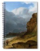 A Coastal Scene Spiral Notebook