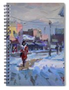 A Cold Afternoon In Tonawanda Spiral Notebook
