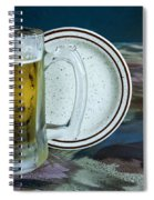 A Cold One For A Treat Spiral Notebook